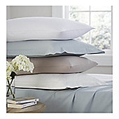 Catherine Lansfield 100% Cotton Fitted Sheet - Cream