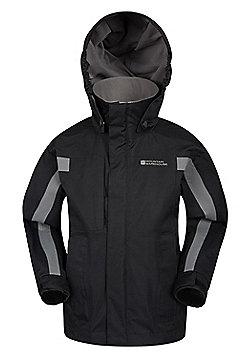 Mountain Warehouse Samson Waterproof Jacket - Black