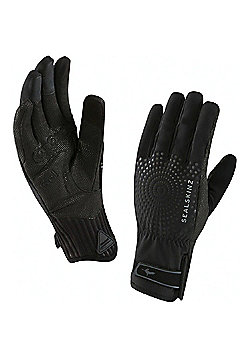 SealSkinz All Weather XP Womens Cycle Gloves - Black