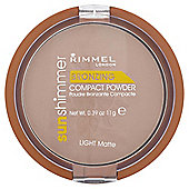 Rimmel Sun Shim Bronzing Powder Light Matte 11G