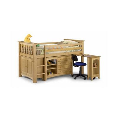 Julian Bowen Barcelona Double Sided Sleep Station Loft Bed