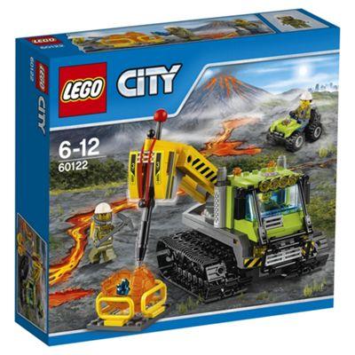 LEGO City Volcano Explorers Volcano Crawler 60122 Building Toy