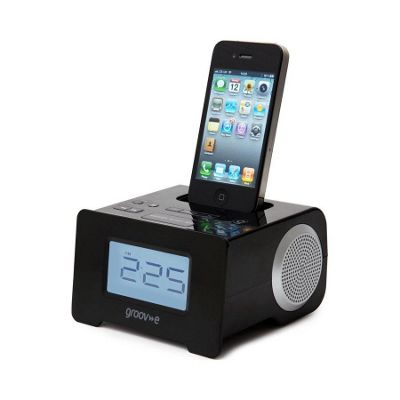 i-SpeakerDock-10 Speaker System with Clock Radio for iPod/iPhone.