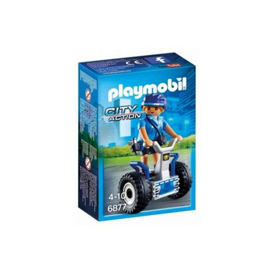 Playmobil City Action Police Balance Racer with Policewoman