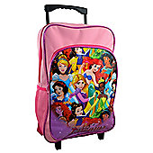 Disney Princess 'Live Your Dreams' School Travel Trolley Roller Wheeled Bag