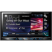 """Pioneer AVH X5800DAB 7"""" CD DVD DAB+ Bluetooth Stereo Touchscreen iPod Android"""
