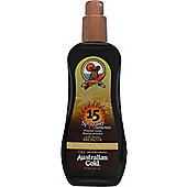 Australian Gold Spray Gel with Bronzer 237ml SPF15