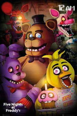 Five Nights At Freddy's Group Poster 61x91.5cm