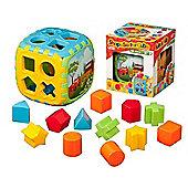 Dede 18 Piece Shape Sorter Cube