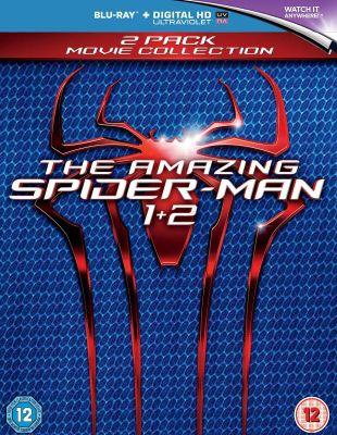 The Amazing Spider-Man 1 & The Amazing Spider-Man 2 (Blu-ray)