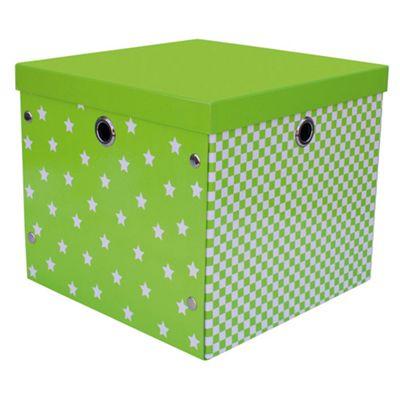 Happy Storage Box Lime