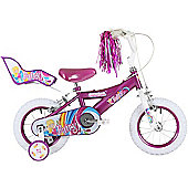 "Bumper Fairy 18"" Pavement Bike Purple"