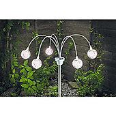 Gardman Poseable Glass Sphere Light
