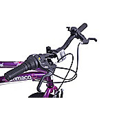 "Ammaco Jewel 18"" Wheel Girls 6 Speed Mountain Bike Purple"