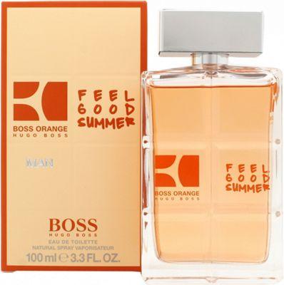 Hugo Boss Boss Orange Feel Good Summer Eau de Toilette (EDT) 100ml Spray For Men
