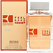 Hugo Boss Boss Orange Feel Good Summer Eau de Toilette (EDT) 100ml Spray For Men