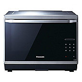 Panasonic NNCS894SBPQ 4-in-1 Steam Microwave, 32 Litre Capacity, 1000W Power