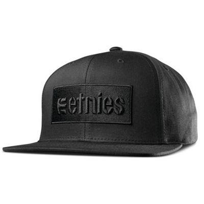 Etnies Corp Box Snapback Cap - Black