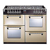 Stoves Richmond 1000 DFT - 1000mm Dual Fuel Range Cooker inc WOK Burner, Champagne