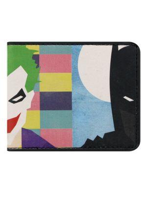 DC Comics Batman Vs Joker Bi-Fold Wallet