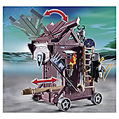 Playmobil Knights Eagle Knights Attack Tower 6628