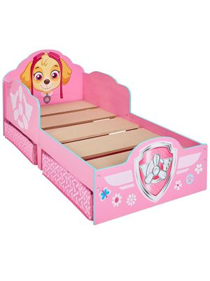 Paw Patrol Skye Toddler Bed With Storage