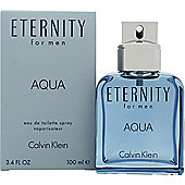 Calvin Klein Eternity Aqua Eau de Toilette (EDT) 100ml Spray For Men