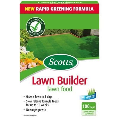 Scotts Lawnbuilder Lawn Food 100m2