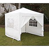 Airwave Pop Up Gazebo Fully Waterproof 2.5x2.5m in White