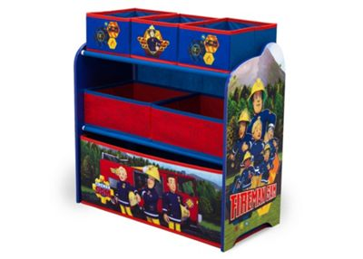 Delta Children Fireman Sam Multi Bin Storage
