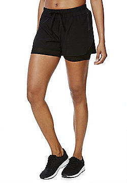 Only Play Conny Training Shorts - Black
