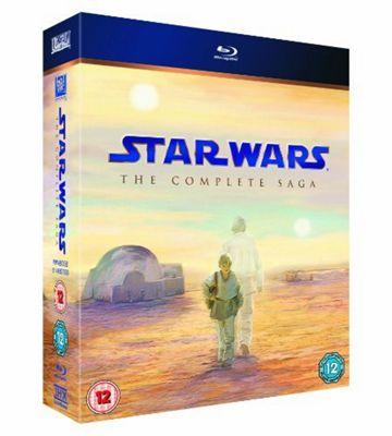 Star Wars : The Complete Saga (Blu-ray Boxset)