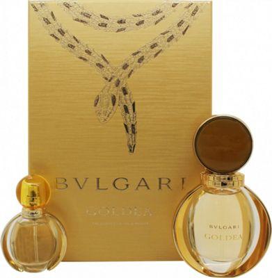 Bvlgari Goldea Gift Set 50ml EDP + 15ml EDP For Women