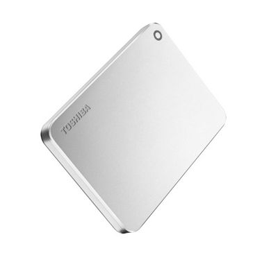 Toshiba Canvio Premium 2TB 2000GB Metallic Silver