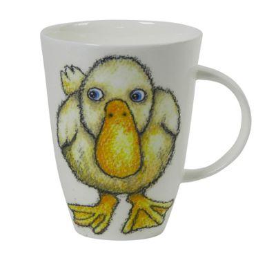 Roy Kirkham Please Shut the Gate Single Mug, Duck