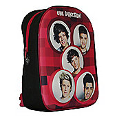 One Direction 3D Effect Backpack