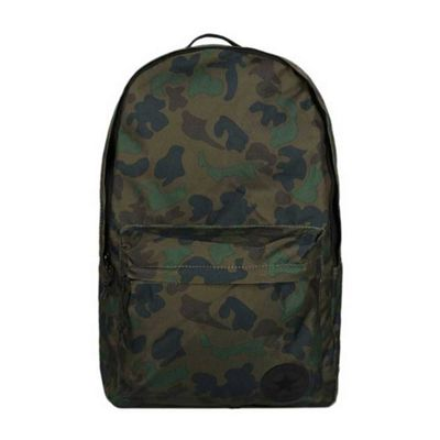 Converse All Star EDC Poly Printed Backpack School Laptop Shoulder Bag - Camo
