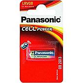 12 x 1 Panasonic LRV08 Battery│12V 23A-MN21│Micro Alkaline│Door Bell│12Batteries