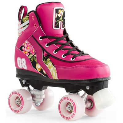 Rio Roller Flowers Ltd Edition Quad Roller Skates UK 3