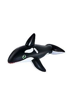 Jumbo Whale Rider Pool Inflatable