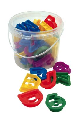 Faringdon Letters and numbers cookie cutter set