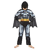 DC Comics Batman Fancy Dress Costume - Grey & Black