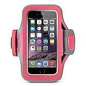 Belkin Slim-Fit Plus Carrying Case (Armband) for iPhone - Fuchsia