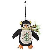 Penguin Christmas Tree Decoration