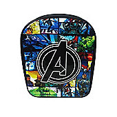 Avengers Pvc Front School Bag Rucksack Backpack