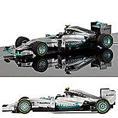 Scalextric Slot Car C3621A Mercedes F1 W05 Hybrid Nico Rosberg (2014) Ltd Ed
