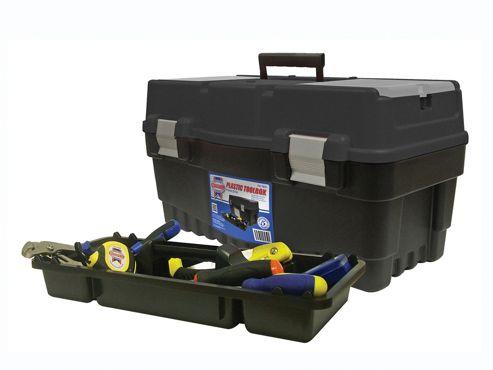 Faithfull Plastic Tool Box - Organiser Lid 547mm (21in)
