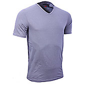 "Canterbury ""Coolers"" Short Sleeve V-Neck Grey T-Shirt - Grey"