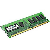 Crucial Technology 512MB DDR2 667MHz PC2-5300 240-pin DIMM CL5 Unbuffered NON-ECC Memory Module