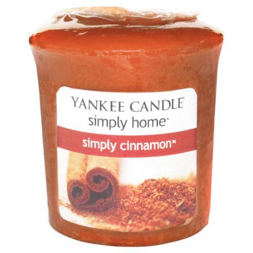 Yankee Candle Votive Simply Cinnamon